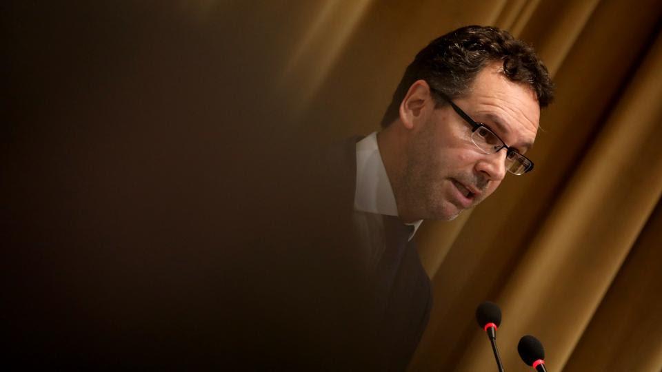 Guido Sandleris, presidente del Banco Central. Ante el peligro de que se le extingan las reservas.