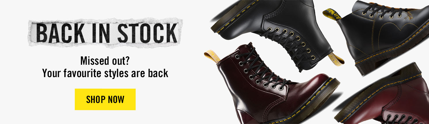 Back In Stock - Missed out? Your favourite styles are back - Shop Now