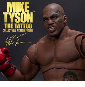 Mike Tyson The Tattoo 1/12 Scale Collectible Action Figure