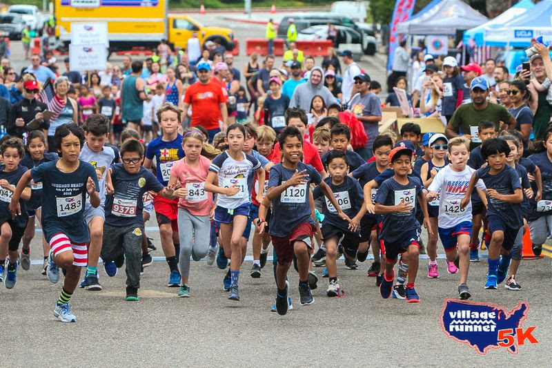 2019 Kids Firecracker Dash start.