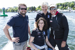 Jochen Schumann and J/70 sailing league partners