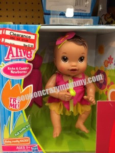 babyalive 225x300 HOT! Target 70% Toy Clearance has Started Baby Alive, Hot Wheels, Angry Birds, and So Much More!