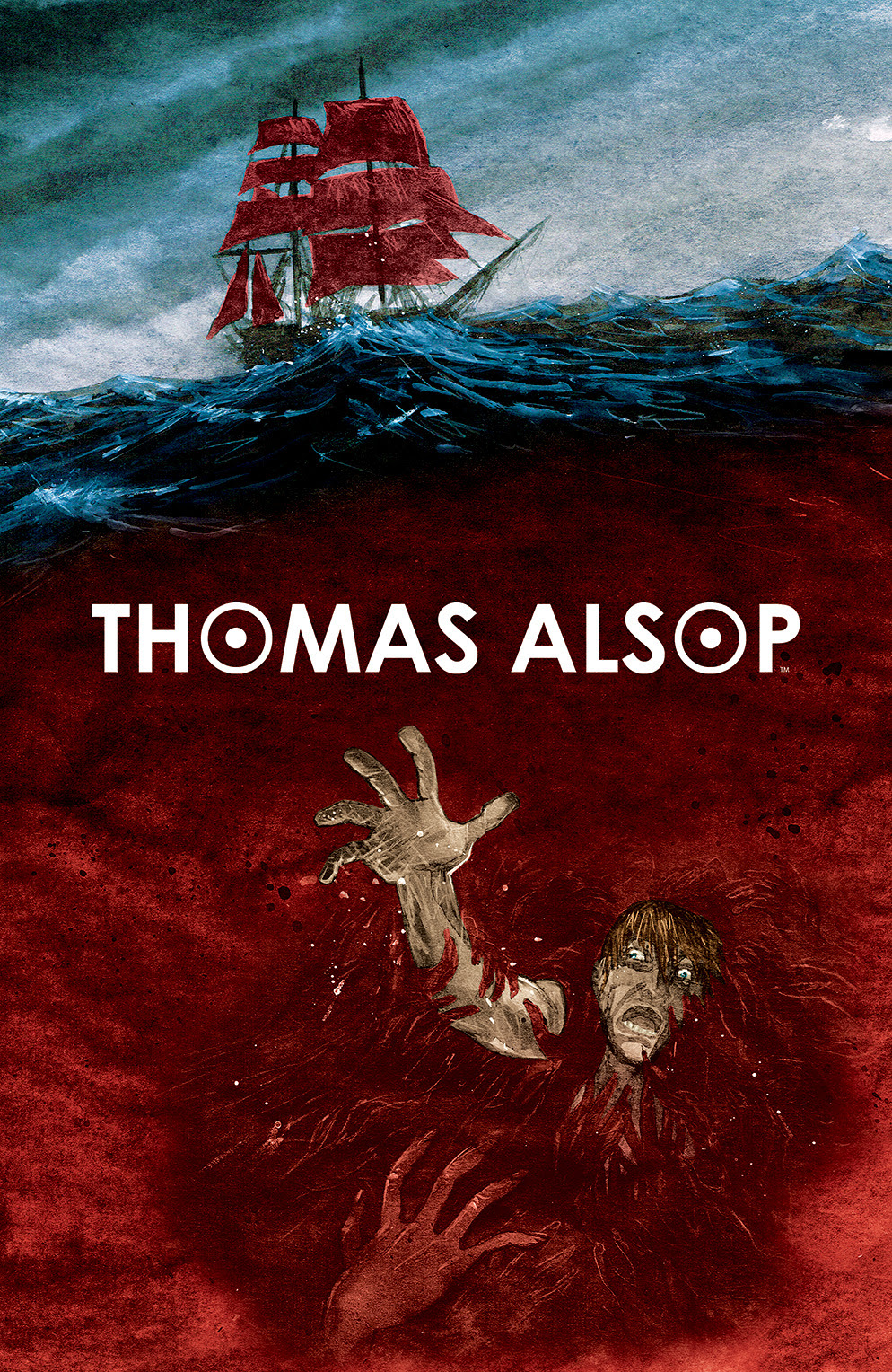 THOMAS ALSOP #3 Cover by Palle Schmidt