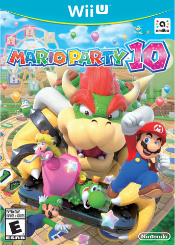Crash the biggest party with bad guy Bowser in Mario Party 10 for Wii U (Photo: Business Wire)