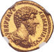 Gem MS aureus of Lucius Verus