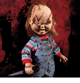 Bride of Chucky Mezco Designer Series Mega Scale Talking Chucky