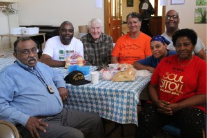 St Phillip Church Members (Pat center in orange)