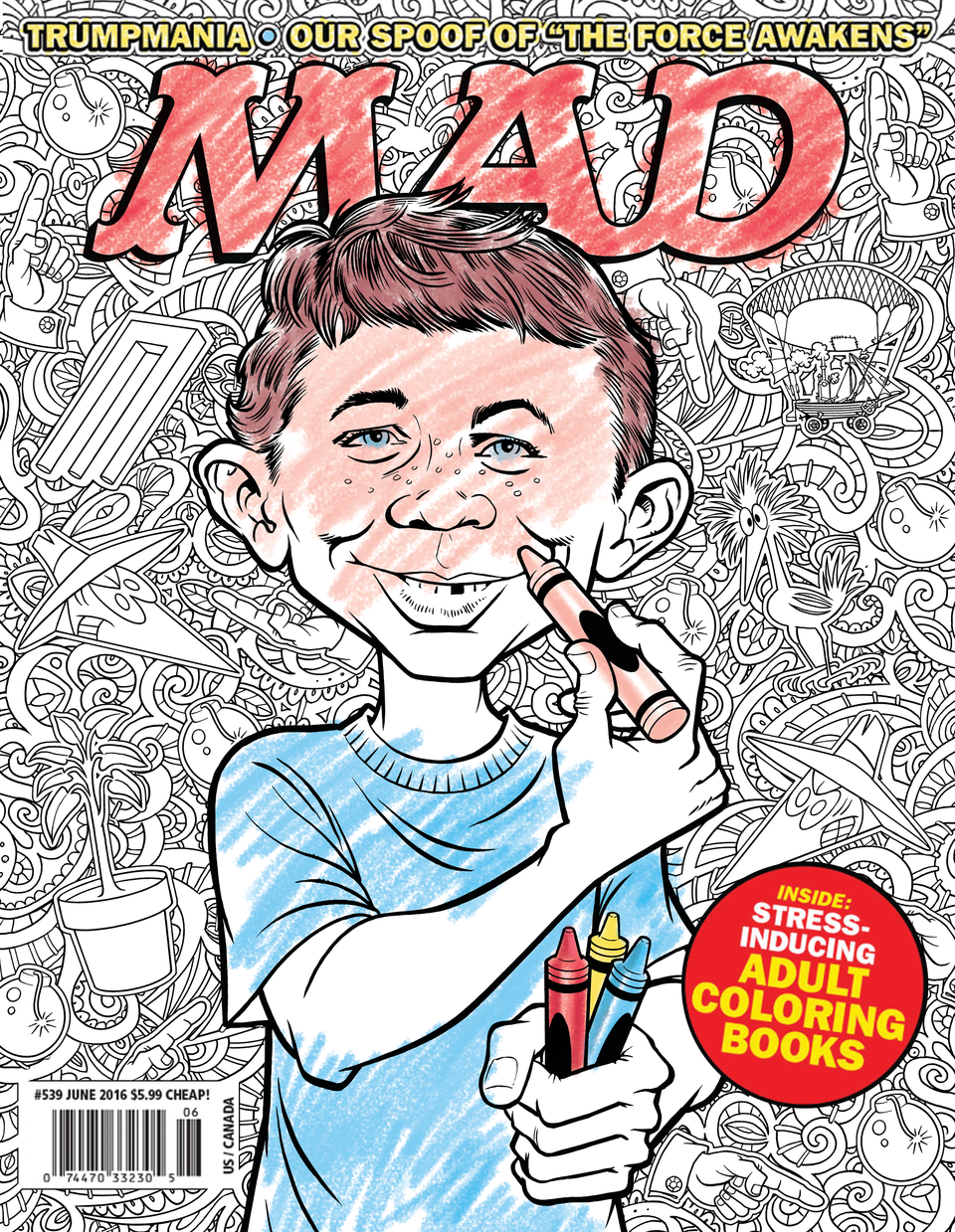 MAD Magazine cover by Tom Richmond