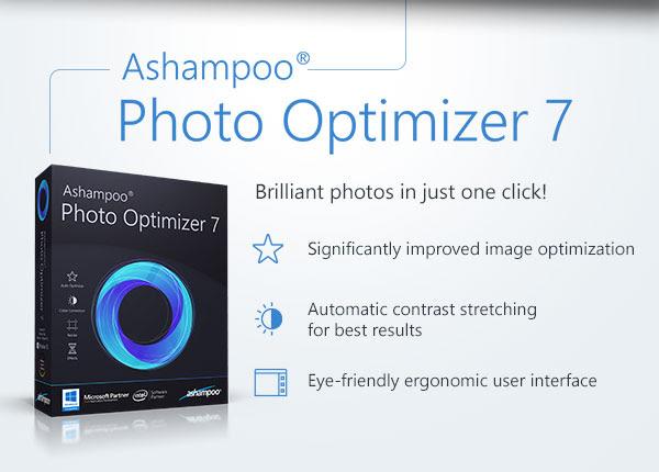 Free Ashampoo Photo Optimizer 7 Key