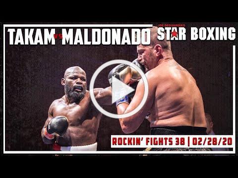 Rockin' Fights 38: Carlos Takam vs Fabio Maldonado