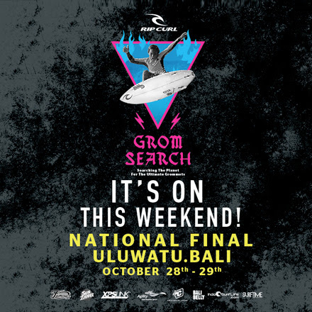 The 2017 Rip Curl GromSearch National Final