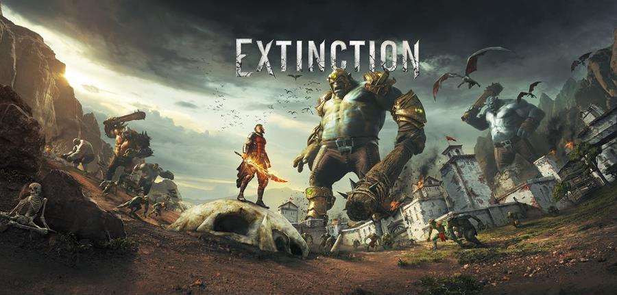 Extinction - key art