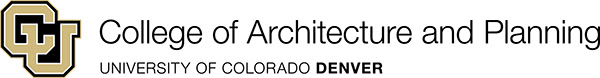 CU Denver College of Architecture and Planning Logo