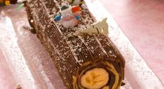 La bûche de Noël express de NorbertVoir la recette de la bûche de Noël express de Norbert