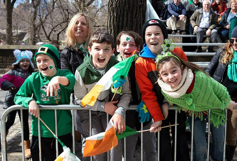 Join the crowds at NYC's official St. Patrick's Day Parade, which has marched the streets since 1762. Photo courtesy of the parade organizers