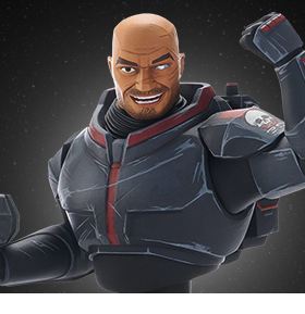 Star Wars: The Clone Wars Wrecker 1/7 Scale Limited Edition Bust