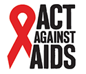 New Act Against AIDS logo