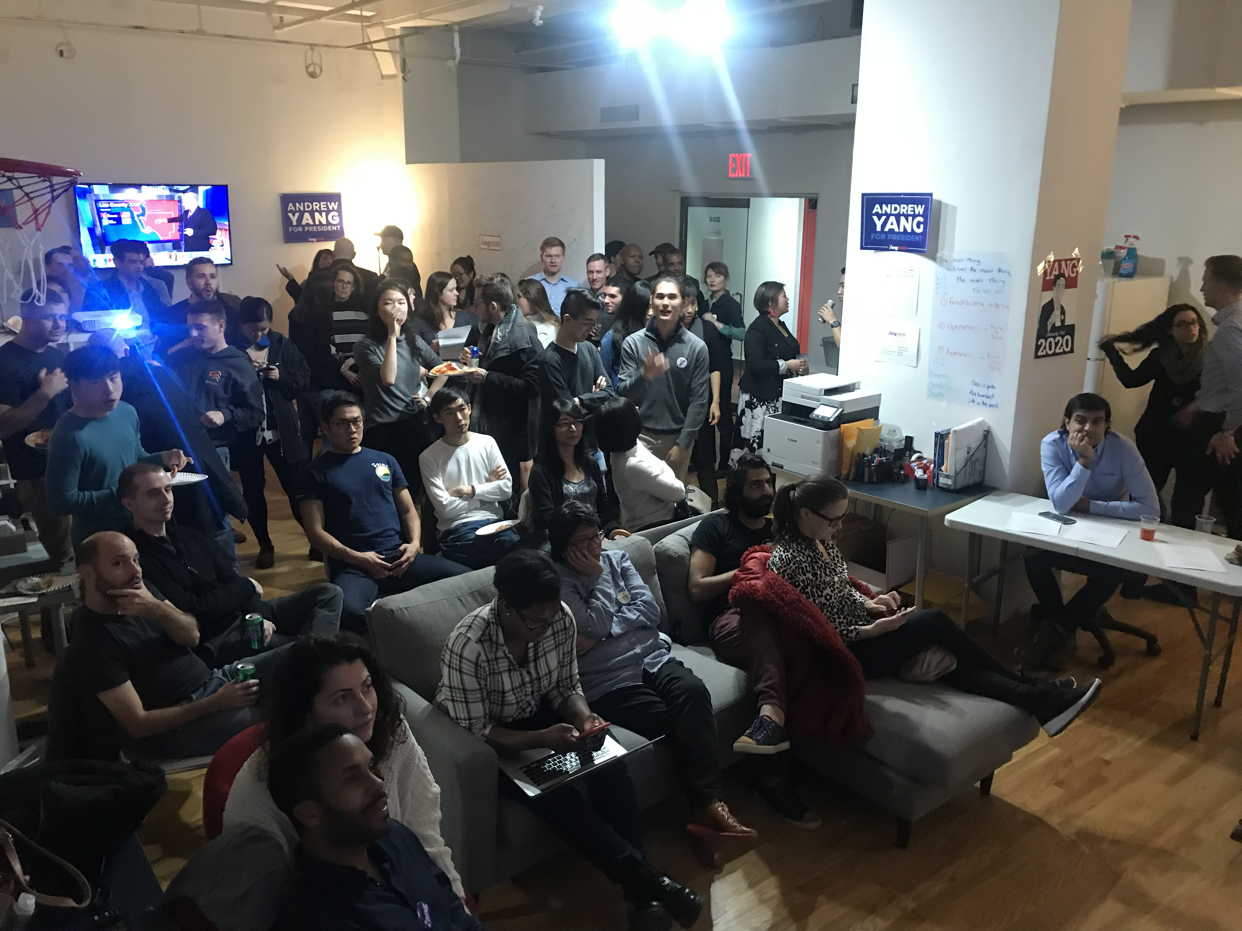 Andrew Yang Midterms Watch Party