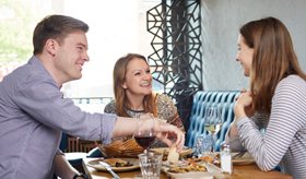 Speak Easy: friends dining out