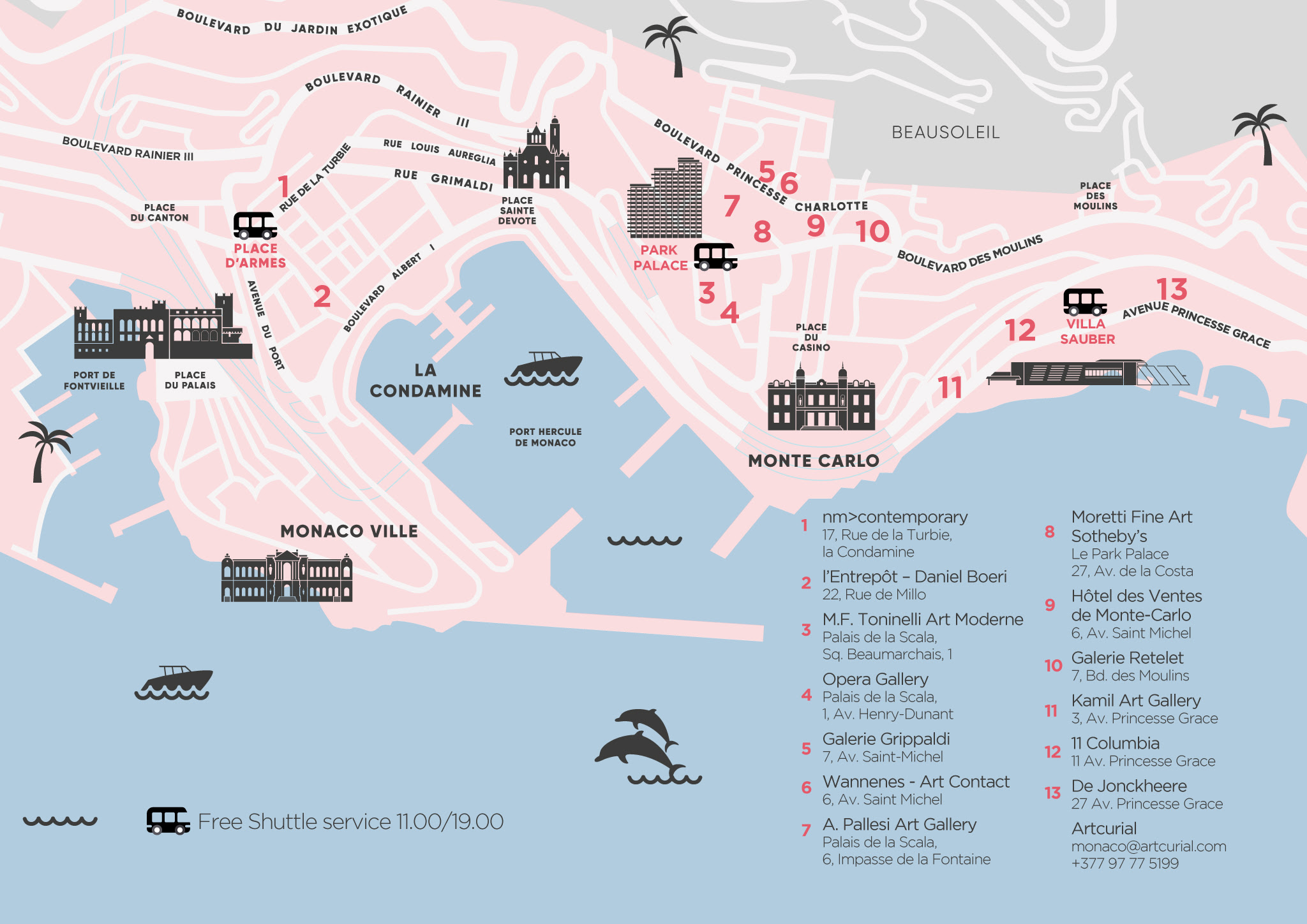 MAP_MONACO ART WEEK
