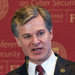 """""""I'm confident that by working together and finding similar areas to agree and compromise, we can come up with solutions to the 'going dark' problem,"""" the F.B.I. director, Christopher A. Wray, said at a conference in Boston this month, referring to encryption that thwarts investigators."""
