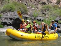 LEAP Campers Raft the Rio Grande
