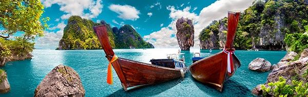 Boats in Phuket, Thailand