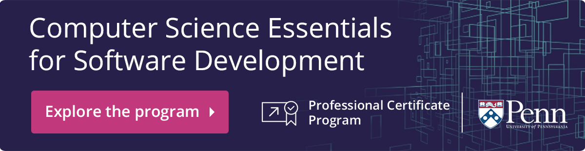 Computer Science Essentials for Software Development